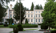 The palace in Karwice