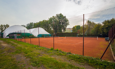 The Gwardia tennis courts