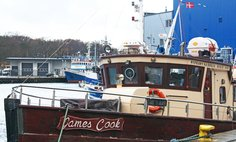 James Cook motor yacht cruise