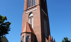 The Martin Luther Church's Tower